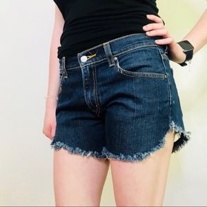 Levi's 515 Cut Off Jean Shorts